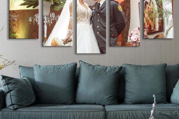 Usando painéis, quadros e canvas para inovar na decoração